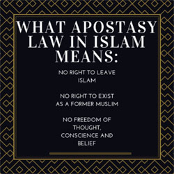 What Apostasy Law in Islam Means